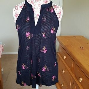 NWT Lucky blouse with flowers